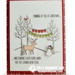 CARD: White Christmas Winter Scene Part III
