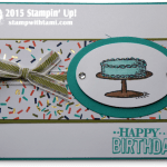 CARD: Big Day Birthday Bash Card