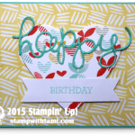 CARD: Happy Birthday from Crazy About You