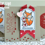 CARD: Foxy Valentine Note Cards
