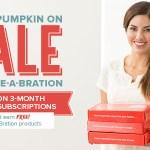 SPECIAL: $5 off Paper Pumpkin plus a Free Stamp Set