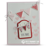 CARD: It's True I <3 U - Valentines Day Card