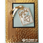 CARD: You're a Gem – bling bling