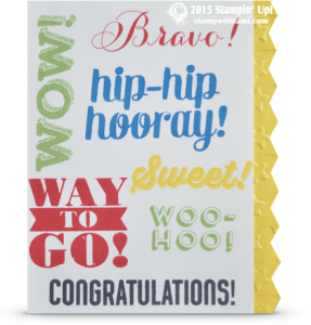 stampin up bravo card stamp set