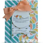 CARD: A Little Birdie Told Me from Retiring For the Birds