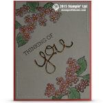 CARD: Thinking of You Blossoms