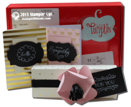 august 2015-08 paper pumpkin chalk it up to love
