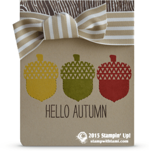 cheerful all year stampin up