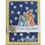 CARD: O, Come All Ye Faithful Christmas Card