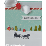 SNEAK PEEK: Sleigh Ride Season's Greetings Card