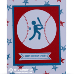 CARD: Simply Sports Baseball Birthday
