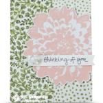 CARD: Definitely Dahlia Sympathy Card
