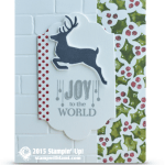 CARD: Joy to the World Christmas Card Idea