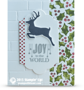 stampin up jolly christmas card idea