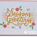 CARD: Berry Merry Seasons Greetings