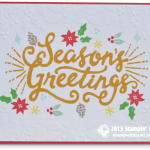 CARD: Berry Merry Seasons Greetings