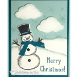 CARD: Snow Place Snowman for Christmas