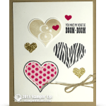CARD: Valentine's Day Groovy Love