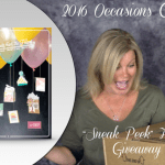 VIDEO: 2016 Stampin Up Occasions & SAB Catalog Haul & Give-away
