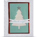 CARD: Perfect Pines Christmas Glitter Tree