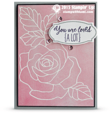 stampin up rose wonder 2