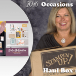 VIDEO: Haul #2 Stampin Up Occasions & SAB Catalogs