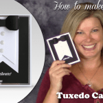 VIDEO: Black Tie Tuxedo Card for New Years and other Events
