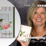 VIDEO: Hummingbird WOW Card – How to use Multi-Step Stamps