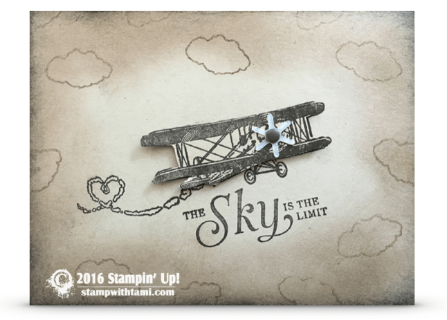 stampin up sky is the limit