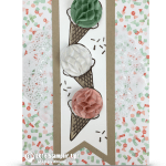 VIDEO: Sale-a-bration Honeycomb Ice Cream Cones Card