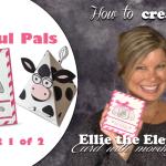 BLOG HOP & VIDEO: Playful Pals Part 1: Ellie the Elephant Card