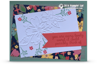 stampin up affectionately yours