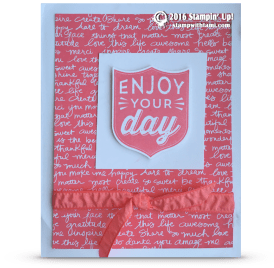 stampin up badge punch bonnie thurber farley