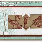 """CARD: Retiring By the Tide """"Sea Life"""" card"""