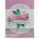 CARD: Picture Perfect Birthday Roses in Sweet Sugar Plum