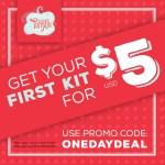 SALE: $5 Paper Pumpkins for 1 day only CODE: ONEDAYDEAL