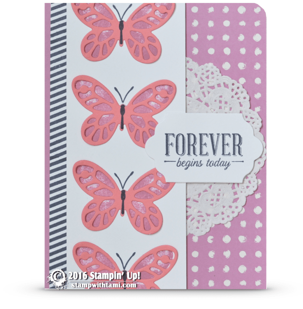 stampin up watercolor wings forever card