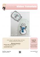 2016-07 Stampin Up Snowman Card-stampwithtami