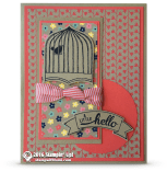 stampin up affectionately yours card