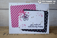 stampin up pop of pink paper