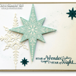 CARD: Gorgeous Sparkly Star of Light Card