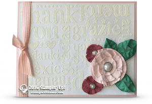stampin up world of thanks