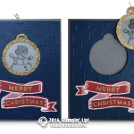 SNEAK PEEK: Super cool 2 in 1 Tag Ornament Card from the Holiday Catalog
