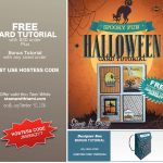 FREE TUTORIALS: Spooky Fun Card Tutorial & Backpack Box Bonus – ends Sept 30