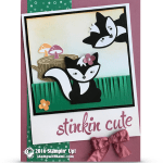 CARD: Stinkin' Cute Photobombing Skunks from Australia