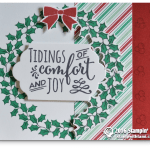 CARD: Tidings of Comfort and Joy Christmas card