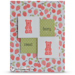 CARD: Beary Sweet Gummy Bears from Just Keep Swimming