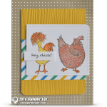 BLOG HOP: Hey Chick Card from Sale-a-bration