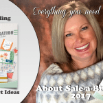 SALE-A-BRATION: What you need to know including 20 projects and giveaway