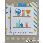 CARD: Congratulations from the Bookcase Builder Set